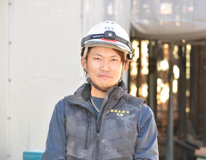 型枠解体業日本一の会社社員