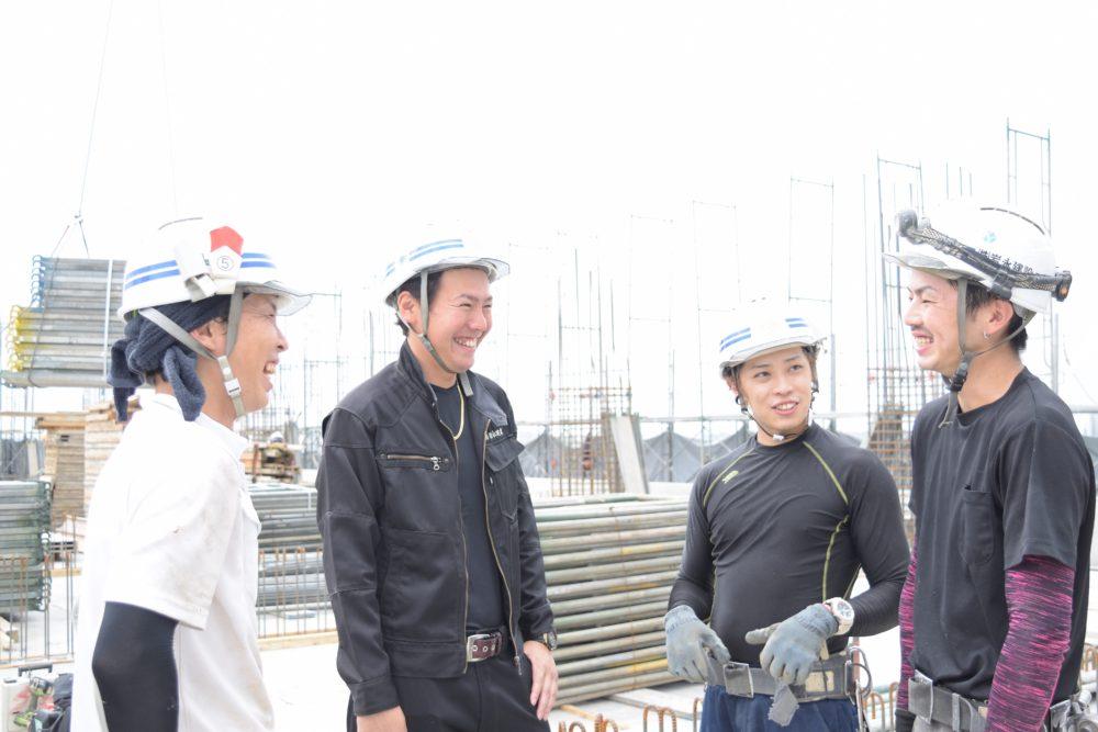 岩永建設の職人たち